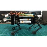 四足走行ロボット「ナノ四駆」フレームセット